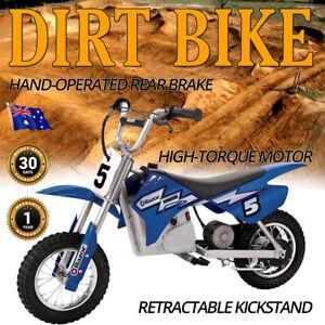 Dirt Bike Rocket Razor Kids MX350 Electric Ride-On 22kmph 30mins Use 13+ Yrs 22k