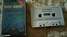 Duck Shoot RARE Video Game Cassette Commodore 64 C64/C128 💜💜💜 FREE POST