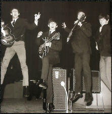 THE BEATLES POSTER PAGE . 1963 ROYAL COMMAND PERFORMANCE SOUNDCHECK . 12M