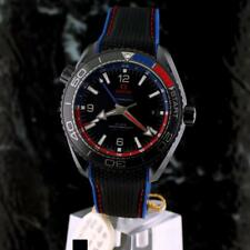 OMEGA Seamaster ETNZ ed. DEEP BLACK PLANET OCEAN GMT Ceramic 215.92.46.22.01.004