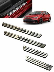 OEM TOYOTA 2020-2021 Corolla Sedan Door Sill Protectors 4PC Set