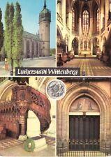 AK, Lutherstadt Wittenberg, Schloßkirche, 4 Abb., 1967