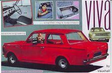 VINTAGE Vauxhall Viva la Pubblicità Poster A3 RISTAMPA