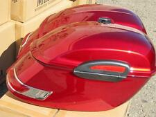 RS Motorcycle Hard Saddlebags ROAD STAR VTX C90 VULCAN V 650 1100 Burgundy Red