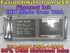 Epson Stylus Pro 4000 7600 9600 Light Black lk pigment ink cartridge compatible