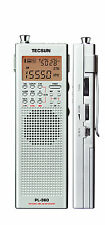 TECSUN PL360 PLL DSP Multi-Band Radio with ETM + GIFT ** SILVER **