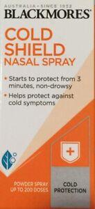Blackmores Cold Shield Nasal Spray 200 Doses Cold Protection