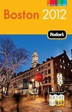 NEW - Fodor's Boston 2012 (Full-color Travel Guide) by Fodor's