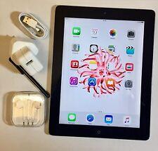 PERFECT Apple iPad 4th Generation 64GB, Wi-Fi, 9.7in - Black + EXTRAS