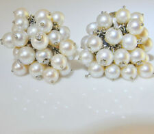 14k Pearl Earrings Vintage & Antique Jewellery