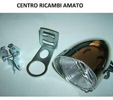 KIT N° 2 Staffa Supporto Faro + Fanale Anteriore Dinamo Bici R Attacco Forcella