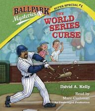 Ballpark Mysteries Super Special #1:The World Series Curse David A. Kelly NEW CD