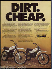 1979 YAMAHA MOTORCYCLE advertisement, Yamaha MX100, MX175, XS650 bikes