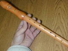 Solid Maple Soprano C BAROQUE Recorder Surprise!!FREE Gift w/Package!!