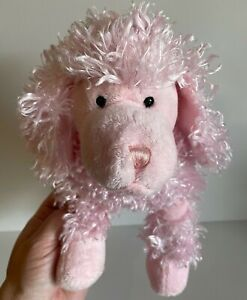 """Poodle Plush Pink 5"""" Adorable Dog Toy Kids Love Stuffed Toys Baby's Room Gift"""