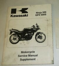 1994 1999-2004 KAWASAKI NINJA 500 GPZ 500S SERVICE SHOP MANUAL 99924-1172-56