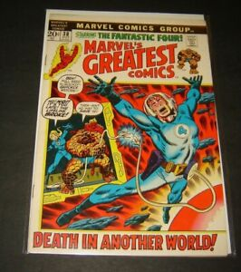 MARVELS GREATEST COMICS, issue #38, (Marvel 1969), VF, Fantastic Four