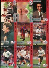 1990-91 PRO SET FIXTURES ENGLAND SOCCER FOOTBALL COMPLETE SET 1-100