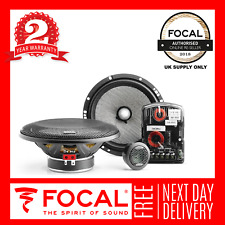 "Focal Access 165AS 6.5"" 17cm Component 2-Way Speaker 2 Year Warranty"