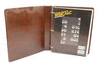 Visicalc Manual Business Software Binder Radio Shack TRS-80 Model II 2 *no disc*