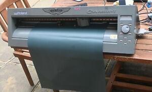 Roland CX-24 CAMM 1 Vinyl cutter-plotter full set up