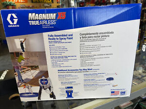 NEW GRACO MAGNUM X5 Airless Paint Sprayer  Interior Exterior Brand New! 262800 !