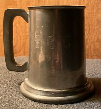 Sheffield Pewter Tankard - Engraved with C * C * C