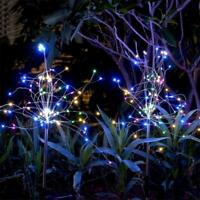 2 Pack DIY 105 LED Solar String Fairy Light Garden Christmas Outdoor Party Decor