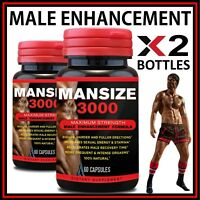 120 MALE PENIS ENLARGER GROWTH PILLS CAPS BIGGER GROW LONGER THICKER SIZE GIRTH