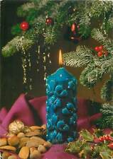 Germany greetings new year christmas candles Postcard