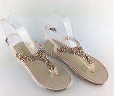 sandali estivi infradito donna bassi  scarpe comode  con strass