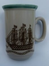 HMS VICTORY ENGLISH CERAMIC MUG TEA COFFEE - NEW CONDITION - CHURCHILL ENGLAND