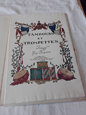 Guy Arnoux - Tambours et Trompettes complet des 10 planches - Tirage à 500 Ex.