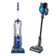 Shark Navigator Bagless Vacuum + Rocket Ultralight, Blue (Certified Refurbished)