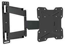 Dual Pivot Curved TV Television Tilt & Swivel Wall Mounting Bracket 17-42 inches