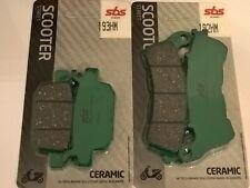 kit pastiglie SBS anteriori + posteriori Honda SH 300 Silverwing S-wing 125 150