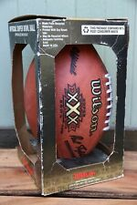 Nwt Official Wilson Nfl Super Bowl Xxx 30 Field Leather Ball Made Usa Football