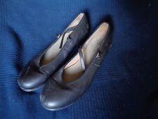 paire de chaussure cuir danse claquette taille 9 1/2 marque bloch techno tap