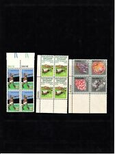 United States Stamps. Plate Blocks. M.N.H.