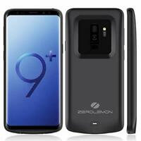 Galaxy S9 Plus Battery Case, Zerolemon Slim Power 5200Mah Extended Battery With