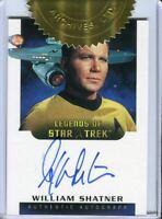 Star Trek TOS Art & Images William Shatner Dealer Incentive Autograph Card LA3