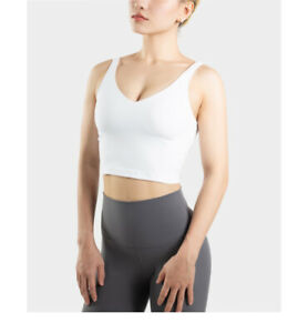 100% new lululemon align yoga top  short tank white  usaw4 free shipping !