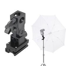 B Type Hot Shoe Flash Umbrella Holder Swivel Light Stand Bracket For AF