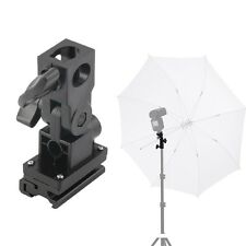 B Type Hot Shoe Flash Umbrella Holder Swivel Light Stand Bracket For NC