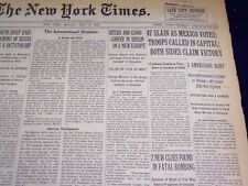 1940 JULY 8 NEW YORK TIMES - 47 SLAIN AS MEXICO VOTES - NT 2545