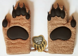 NWT FRED wild thing BEAR HANDS pair of OVEN MITTS 5130360