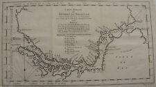CARTE REDUITE DU DETROIT DE MAGELLAN ,  CHILI , TERRE DE FEU , 1753