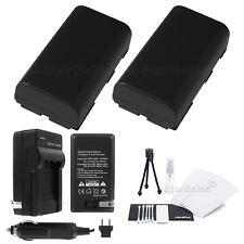 2x BP-915 Battery + Charger for Canon XL1 XL1s XL2 XM1 XM2 XV1 XV2
