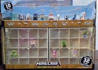 MINECRAFT Mini-Figure Collector Case With 10 Mini-Figures DTL71 - BRAND NEW NRFB