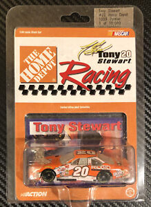 1999 Action NASCAR Tony Stewart #20 The Home Depot 1:64 Diecast New